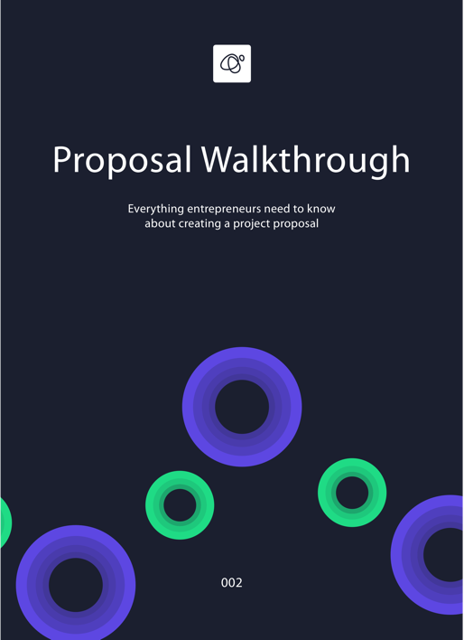 Proposal Walkthrough